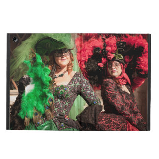 Masked women during the Venice carnival iPad Air Case