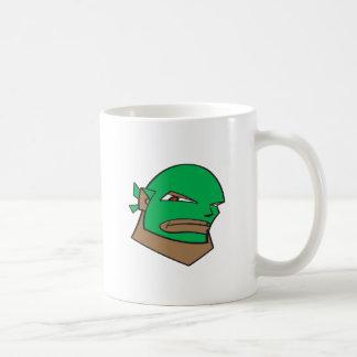 Masked Wrestler Classic White Coffee Mug