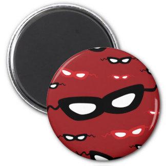 Masks 2 Inch Round Magnet