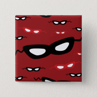 Masks 2 Inch Square Button