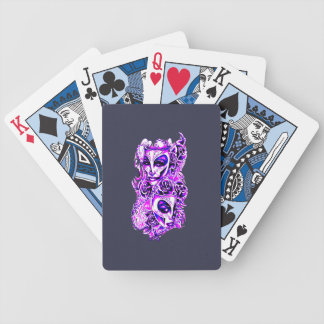 Masks Bicycle Playing Cards