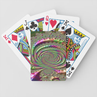 Masks of Jealousy Fractal Bicycle Playing Cards