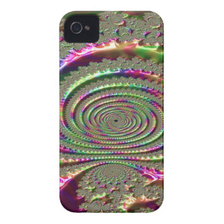 Masks of Jealousy Fractal iPhone 4 Case-Mate Case