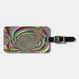 Masks of Jealousy Fractal Luggage Tag