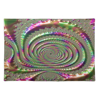 Masks of Jealousy Fractal Placemat