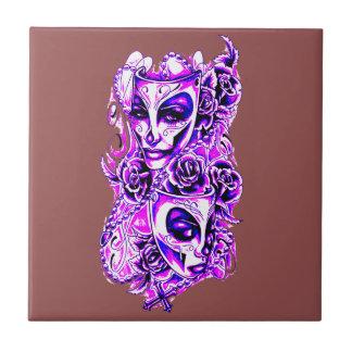 Masks Tile
