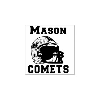 MASON COMETS HIGHSCHOOL OHIO RUBBER STAMP
