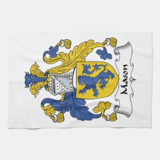Mason Family Crest Kitchen Towel