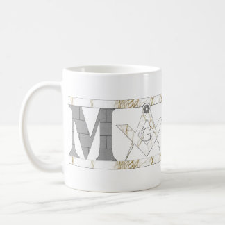 Mason in Stone Coffee Mug
