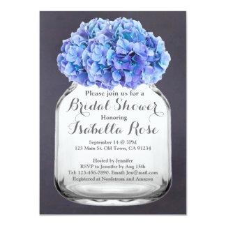 Mason jar blue hydrangea bridal shower hydrangea7 card
