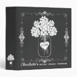 Mason Jar Bridal Shower Cookbook Recipe Binder