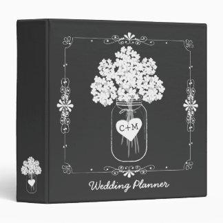 Mason Jar Bride s Wedding Planner Binder