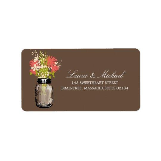 Mason Jar Flowers | Mailing Address