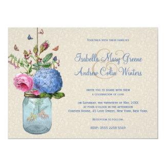Mason Jar - Goldfish Love Card