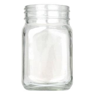 Mason Jar with handle, 12 oz