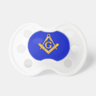 Mason - Masonic Blue Baby Pacifiers