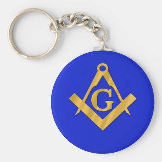 Mason - Masonic Blue Keychains