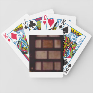 mason texture bicycle playing cards