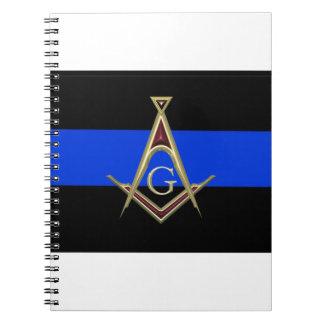 masonblueline notebook