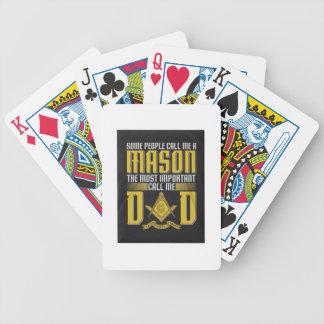 masondad bicycle playing cards