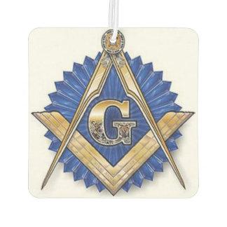 Masonic Air Freshener