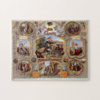 Masonic Anti Drinking Art Jigsaw Puzzle