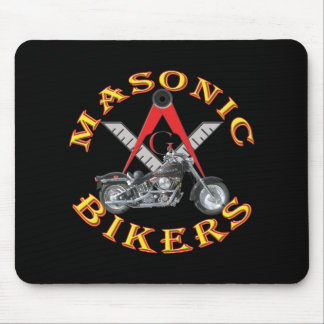 Masonic Bikers Mouse Pad