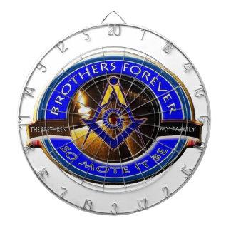 Masonic Brothers Dartboard