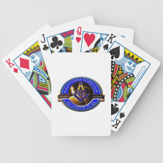 Masonic Brothers Poker Deck