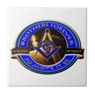 Masonic Brothers Tile