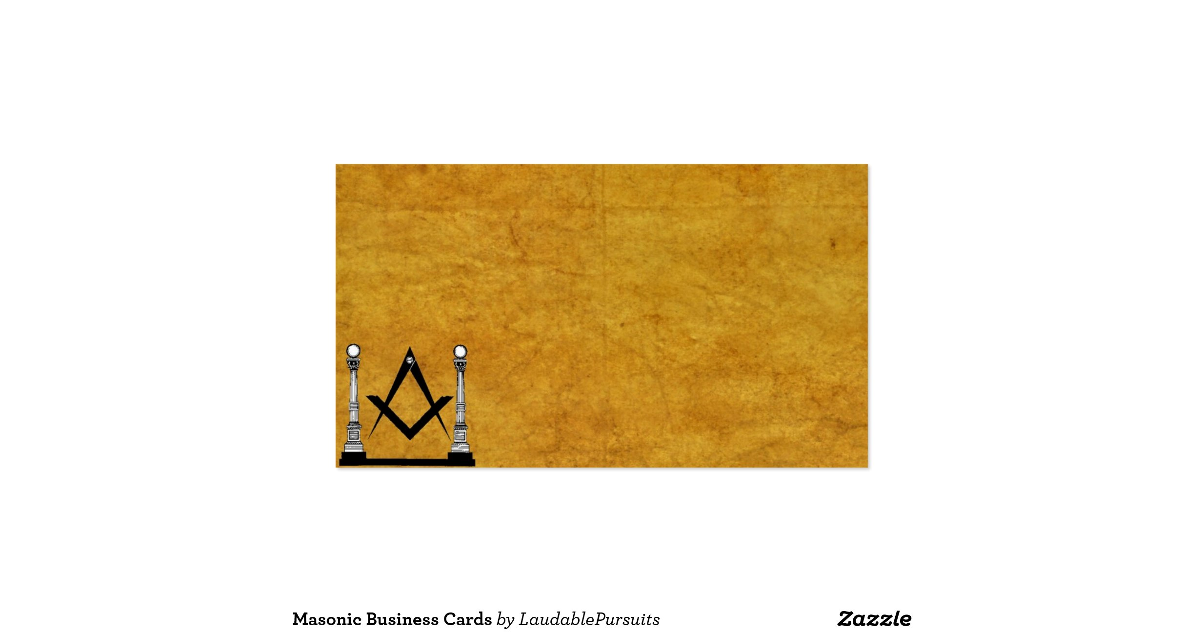 free masonic business card templates - 28 images - custom freemason ...