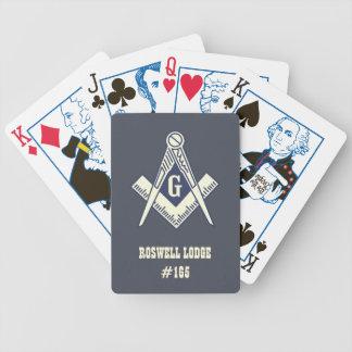Masonic Founding Fathers Playing Cards