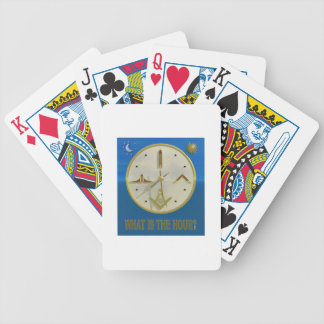 Masonic Hour Bicycle Playing Cards