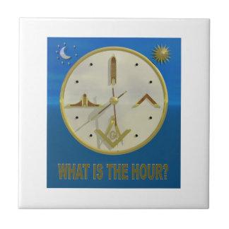 Masonic Hour Tile