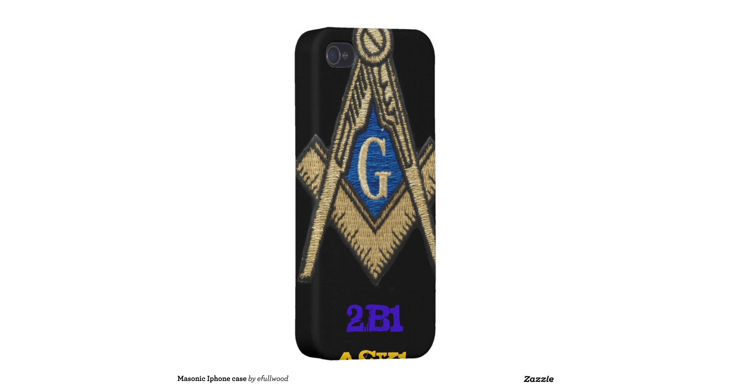 Masonic Iphone  Cases