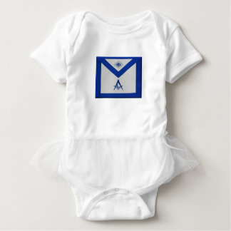 Masonic Junior Deacon Apron Baby Bodysuit
