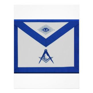 Masonic Junior Deacon Apron Letterhead