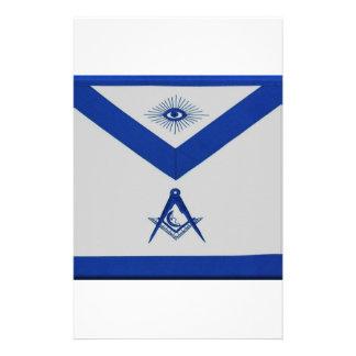 Masonic Junior Deacon Apron Stationery