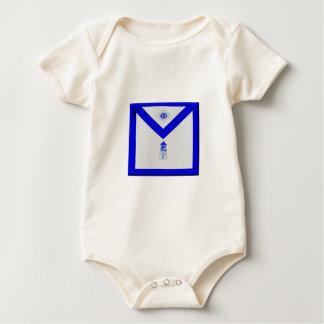 Masonic Junior Warden Apron Baby Bodysuit