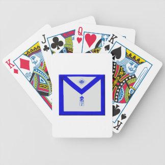 Masonic Junior Warden Apron Poker Deck