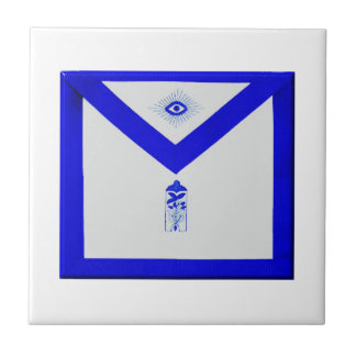 Masonic Junior Warden Apron Tiles