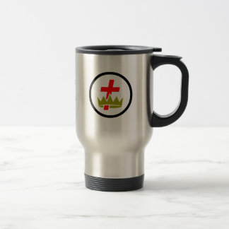 Masonic Knights Templar Travel Mug