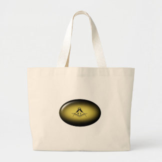 Masonic Light Large Tote Bag