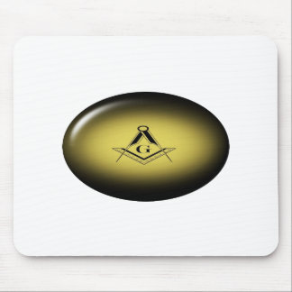 Masonic Light Mouse Pad