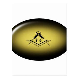 Masonic Light Postcard