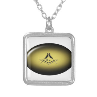 Masonic Light Silver Plated Necklace