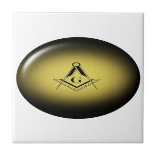 Masonic Light Tile