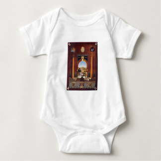 Masonic Lodge Baby Bodysuit