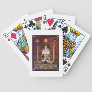 Masonic Lodge Bicycle Playing Cards