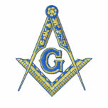 Masonic Logo with Personalized Name Polo